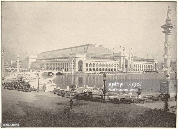 Manufactures and Liberal Arts Building Grand Basin World's Columbian Exposition Chicago Illinois 1896