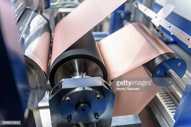 Manufacturing lithium ion batteries in battery research facility
