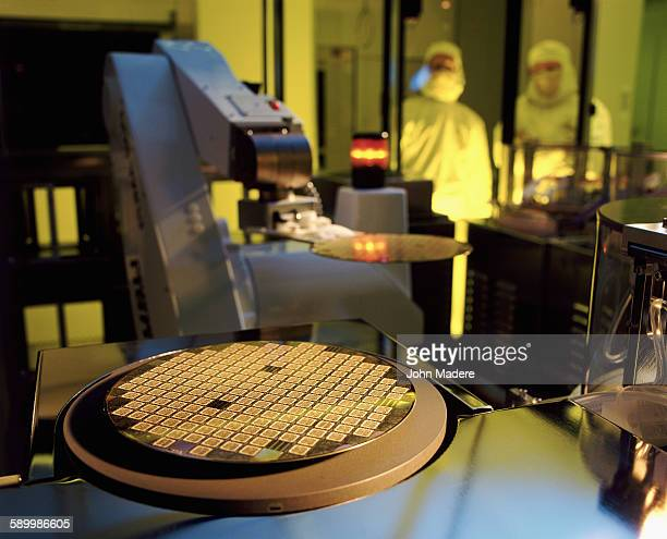 Manufacturing semiconductor wafers