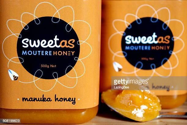 manuka honey - manuka stock photos and pictures