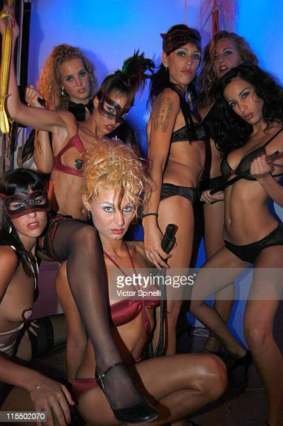 Manumission girls during Manumission Week 5 The Largest Party in the World at Privilege in Ibiza Spain