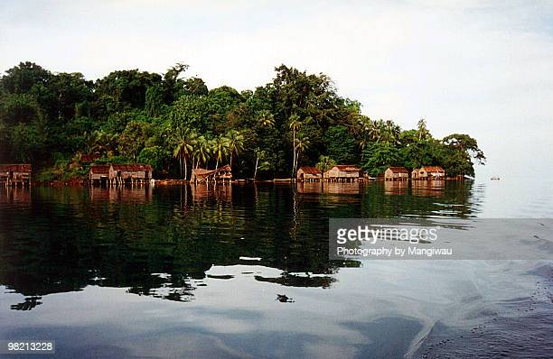 manus island tranquility - papua new guinea stock pictures, royalty-free photos & images