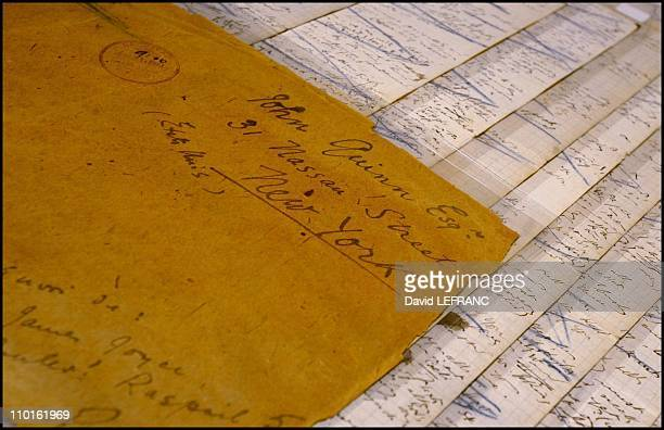 Manuscript of James Joyce sold at Christie's for $ 1546000 in United States on December 14 2000 A newly discovered manuscript of the 'Circe'chapter...