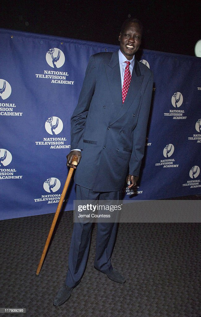Manute Bol during 26th Annual Sports Emmy Awards - Arrivals at Frederick P. Rose Hall at Jazz at Lincoln Center in New York City, New York, United States.
