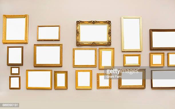 Many blank frames.