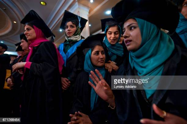 Many girls in Afghanistan get no education at all Even those who do enroll in a school typically study for just four years So these members of Kabul...