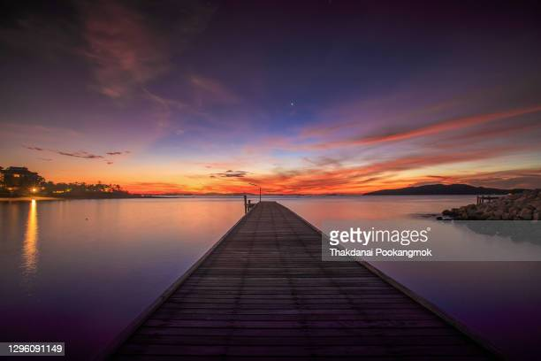 many jetty dry in thailand - jetty stock pictures, royalty-free photos & images