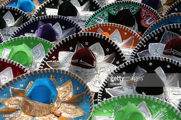 Many Mexican sombreros