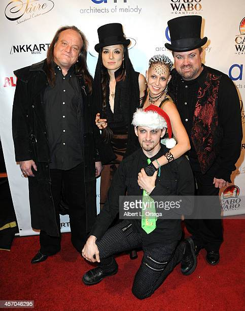 Many Of Odd Nature attend Britticares Toy Drive with a benefit concert by G Tom Mac Many Of Odd Nature in conjunction with publicist Michael...