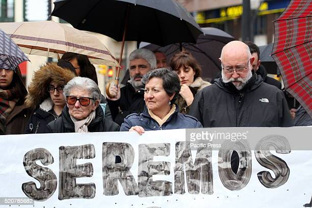 Many organizations and citizens gathered in support of refugees in Gijon a minute of silence was held in their honor and song was sung for all...