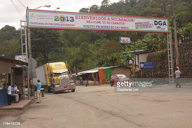 CONTENT] Many overland travelers and trucks pass through the Las Manos border crossing into Nicaragua from Honduras