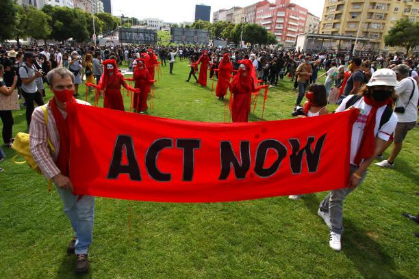 PRT: Black Lives Matter Protest In Portugal