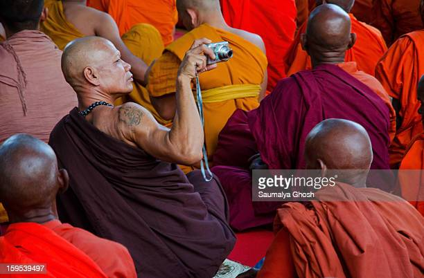 CONTENT] Many people of different culture from across the world come to Bodh Gaya for the Buddha Purnima celebration The usual mode of celebration is...
