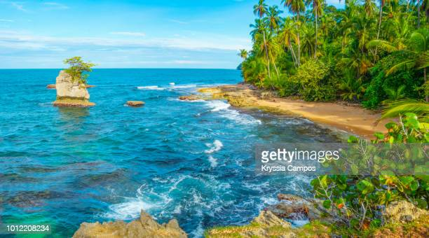 Manzanillo Beach Scenery in south Caribbean - Costa Rica
