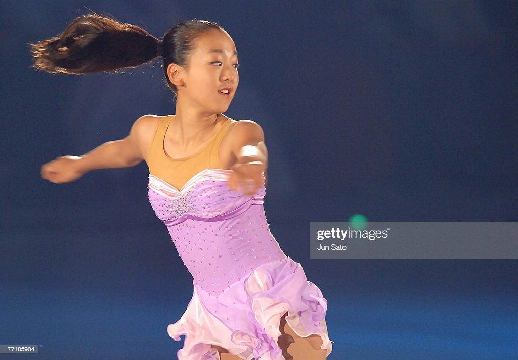 Mao Asada during Dreams on Ice 2006 exhibition show.