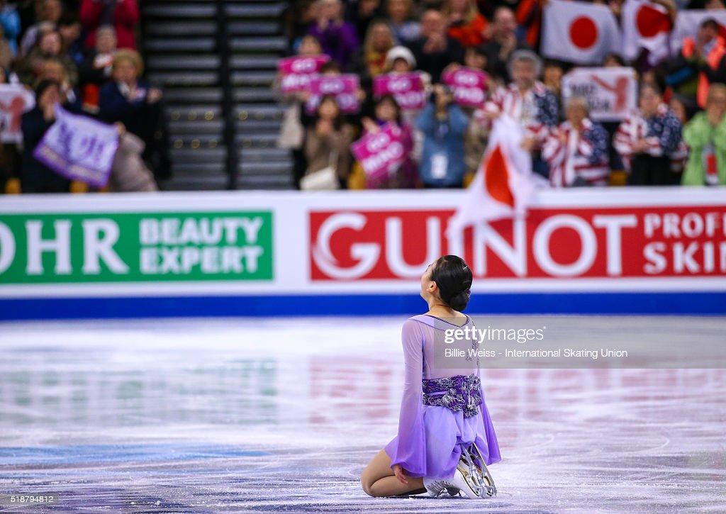 ISU World Figure Skating Championships 2016 - Day 6 : News Photo