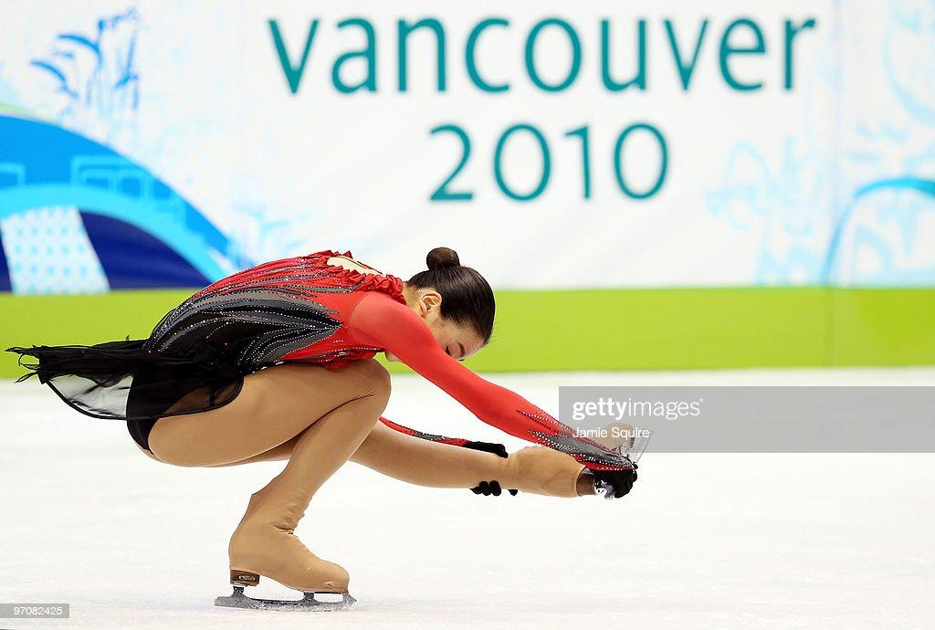 Figure Skating - Ladies Free Skating - Day 14 : News Photo