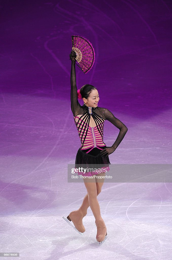 Mao Asada of Japan performs at the Exhibition Gala following the Olympic figure skating competition at Pacific Coliseum on February 27, 2010 in Vancouver, Canada.