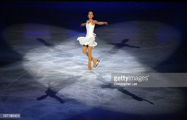 Mao Asada of Japan performs in the Gala during the ISU GP Trophee Eric Bompard 2010 at the Palais omnisport de Paris Bercy on November 28 2010 in...