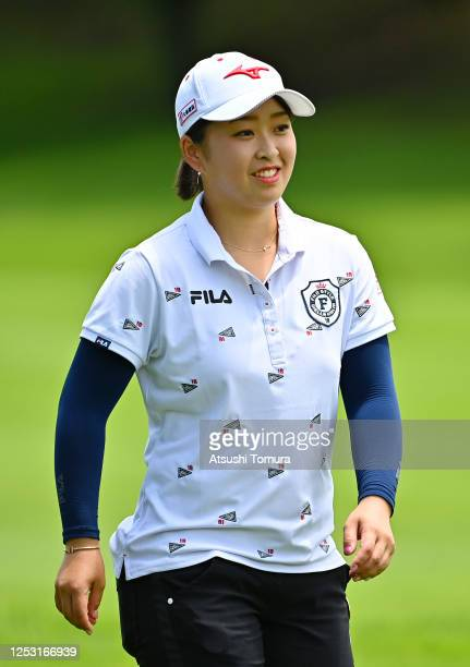 Mao Saigo of Japan is seen on the 5th hole during the final round of the Earth Mondamin Cup at the Camellia Hills Country Club on June 29 2020 in...