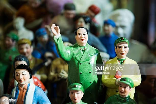 Mao Tse Tung and ceramic statues, Hong Kong
