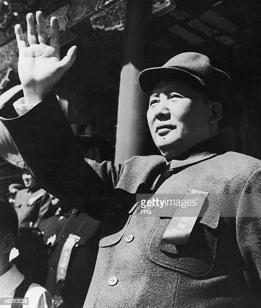 Mao Tse-Tung, portrait (B&W)