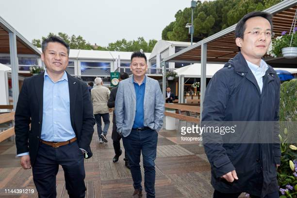 Mao Ye Wu of RCD Espanyol attends the Barcelona Open Banc Sabadell 2019 at Real Club de Tennis de Barcelona on April 22 2019 in Barcelona Spain