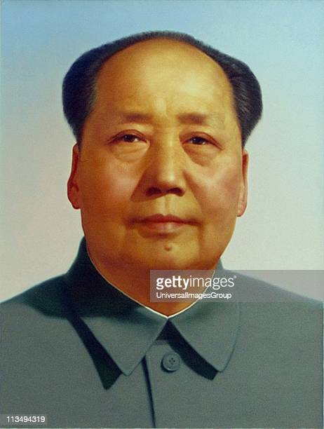 Mao Zedong 1893 - 1976), Chinese revolutionary, political theorist and communist leader. Led the People's Republic of China 1949-1976