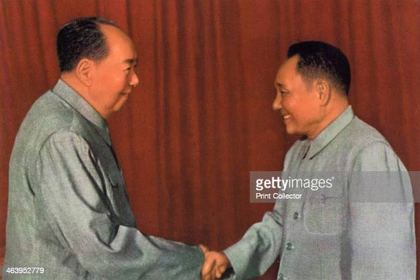 Mao Zedong and Deng Xiaoping Chinese Communist leaders c1960s After Mao's death Deng Xiaoping gradually emerged as the de facto leader of China He...