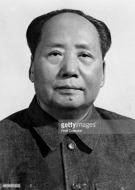 Mao Zedong Chinese Communist revolutionary and leader c1950s The son of a peasant farmer Mao Zedong led the Red Army which undertook the epic Long...