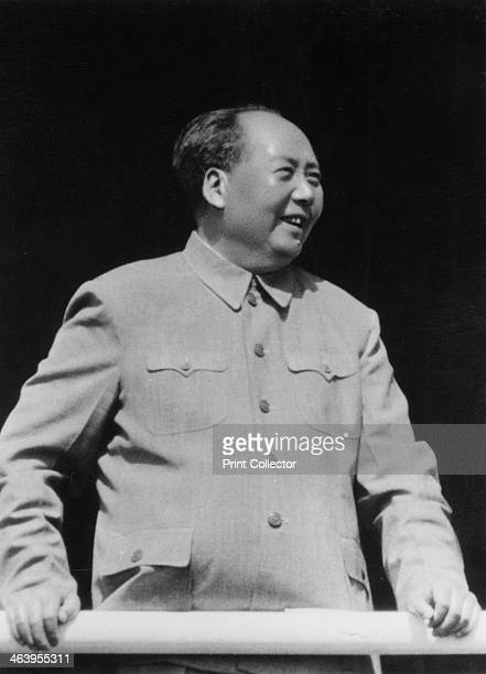 Mao Zedong Chinese Communist revolutionary and leader c1950sc1960s The son of a peasant farmer Mao Zedong led the Red Army which undertook the epic...