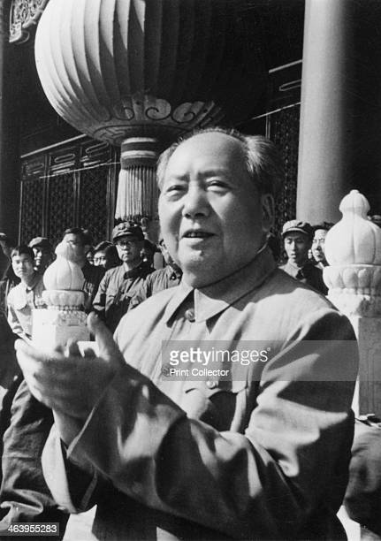 Mao Zedong Chinese Communist revolutionary and leader c1970s The son of a peasant farmer Mao Zedong led the Red Army which undertook the epic Long...