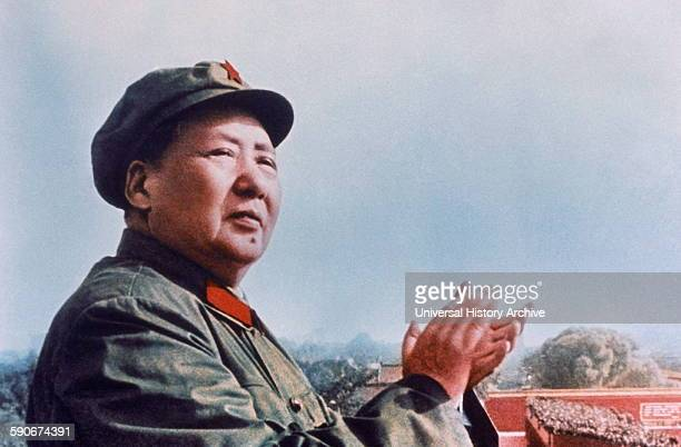 Mao Zedong Chinese Communist revolutionary and the founding father of the People's Republic of China which he governed as Chairman of the Communist...