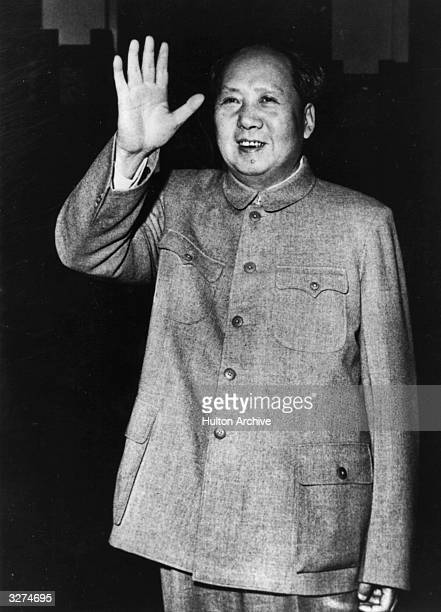Mao Zedong known as Mao Tsetung the communist leader and first chairman of the People's Republic from 1949