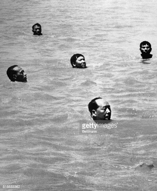 Mao Zedong swims the Yangtze River at Wuhan to dispel any rumors about his ill health . This event is considered one of the signal events of the...
