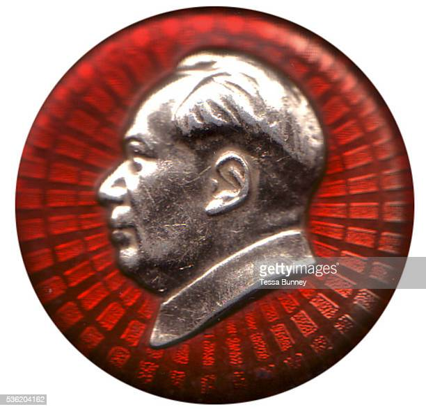 'Mao zhuxi xiangzhang' is the name give to a type of pin badge displaying an image of Mao Zedong that was ubiquitous in China during the early period...