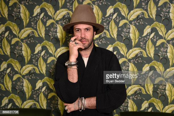 Maor Cohen attend the Maor Cohen and Olivia Steele collaboration for Art Basel Miami Beach at The Webster on December 5 2017 in Miami Florida