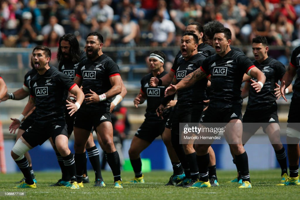 Maori All Blacks v Chile - Test Match : News Photo