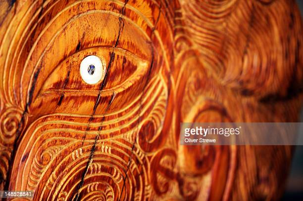 Maori carving from Ora Design & Art Space, 23 Allen Street.