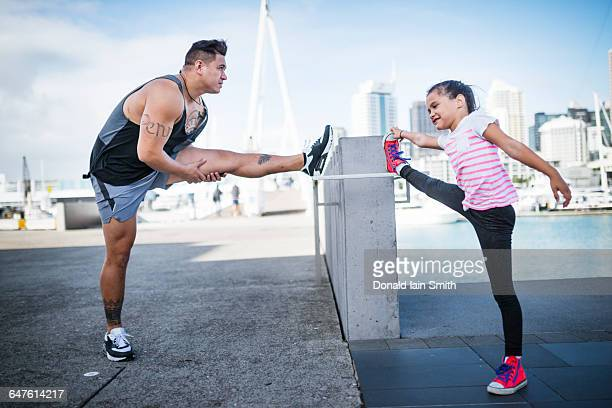nz maori pacific healthy lifestyle - pacific islanders stock pictures, royalty-free photos & images