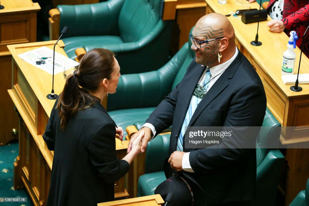 Commission Opening Of New Zealand's 53rd Parliament : News Photo