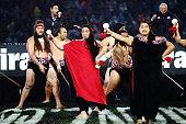 rotorua new zealand maori warriors perform