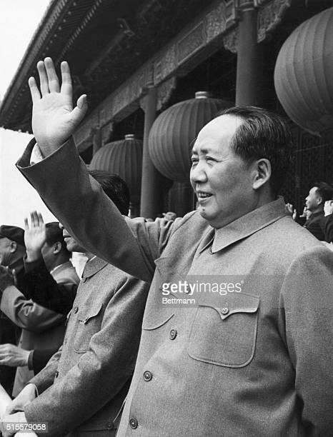 Mao-Tse Tung , Chairman of Communist Party in China. Photograph.