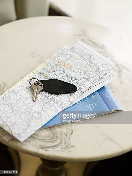 Map and key