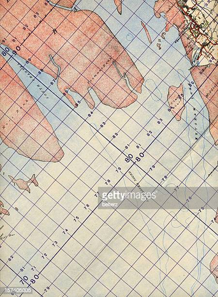 map detail - coordination stock pictures, royalty-free photos & images