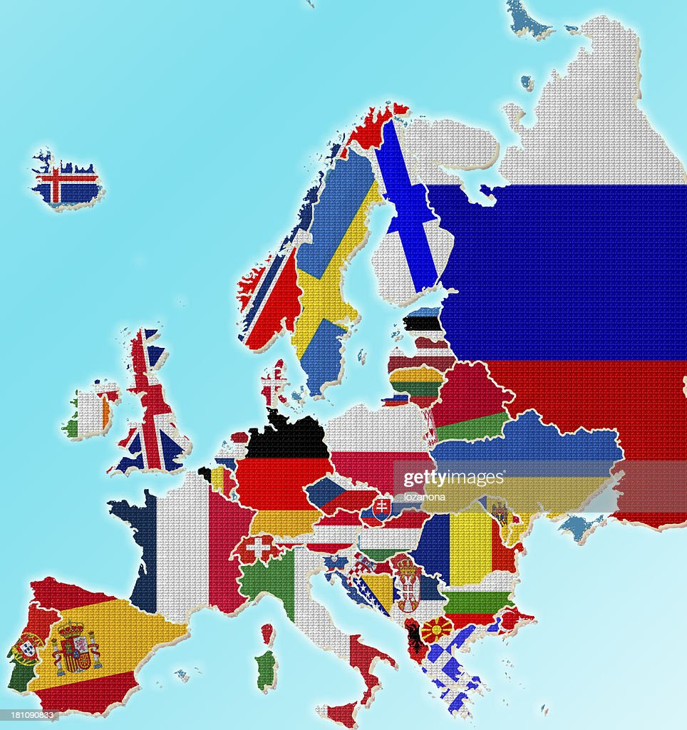 Map europe with flag lego style stock photo getty images map europe with flag lego style stock photo gumiabroncs Image collections