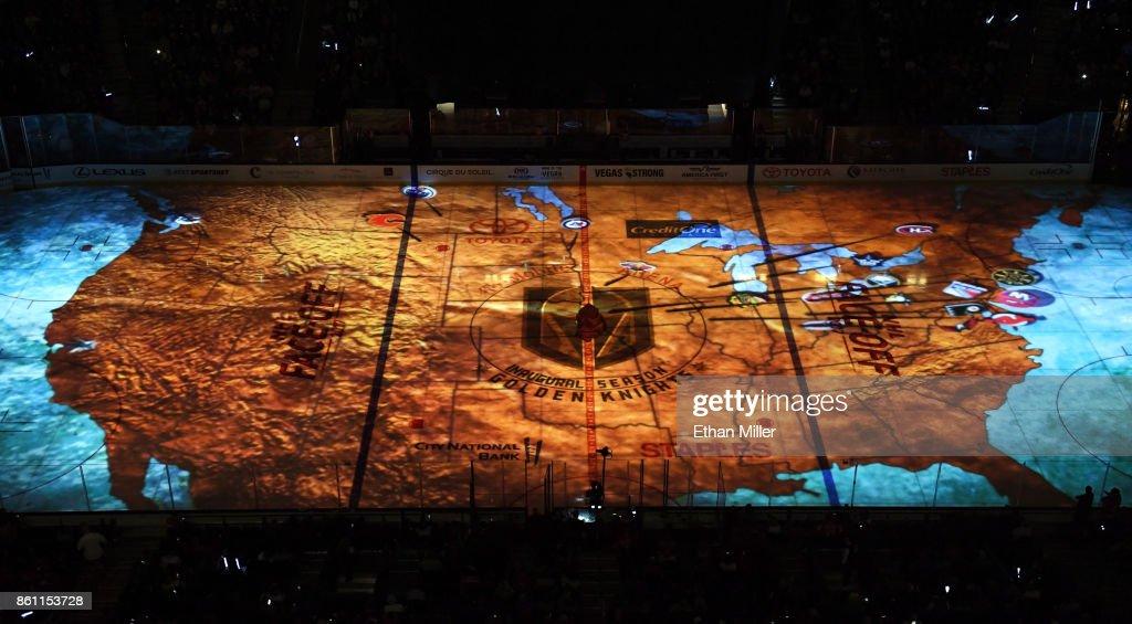 Detroit Red WIngs v Vegas Golden Knights : News Photo