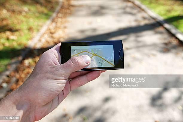 GPRS map navigation
