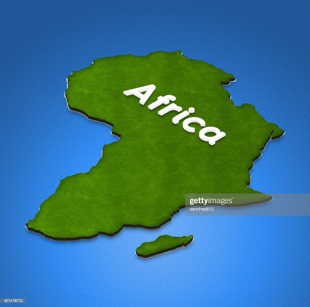 Map Of Africa 3d.Map Of Africa 3d Isometric Illustration Stock Photo Getty Images