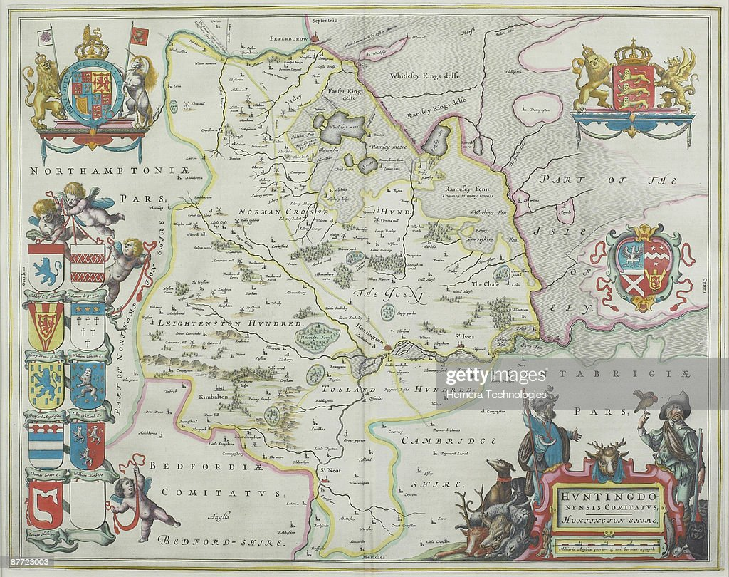 Map Of Berkshire England Stock Photo Getty Images